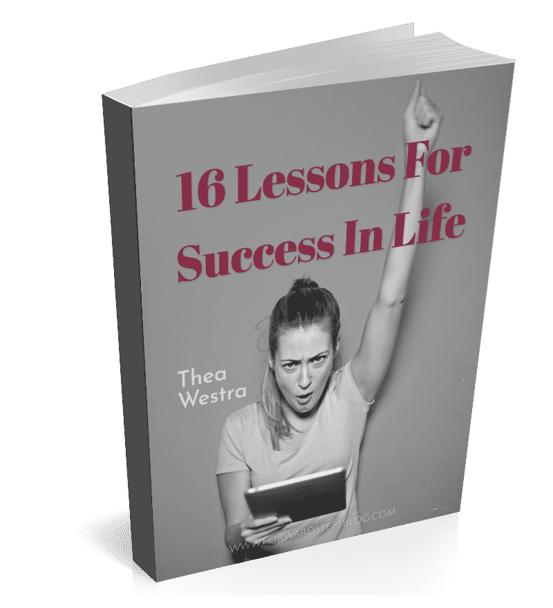 16 Lessons For Success In Life book cover 800px