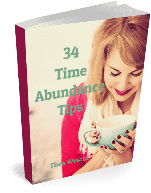 34 Time Abundance Tips - Forward Steps book cover 591px