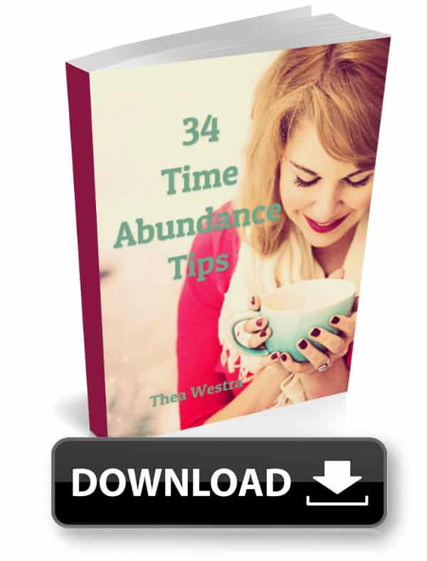 34 Time Abundance Tips - Forward Steps Free eBook Download