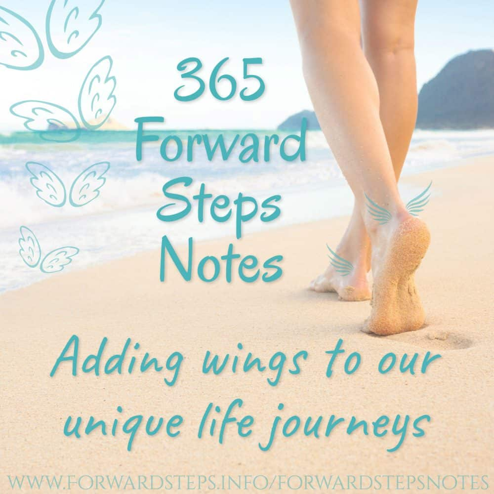 Forward Steps Self Improvement Products 365 forward steps notes