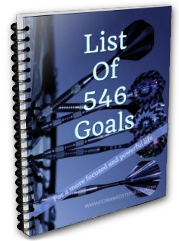 546 Goals List Forward Steps free ebook download