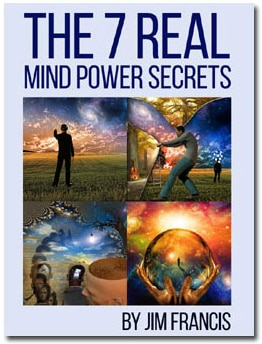 Synchronicity Luck program- 7 real mind power secrets ebook cover
