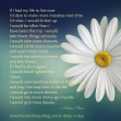 A Daisy A Day Song & Nadine Stair Poem
