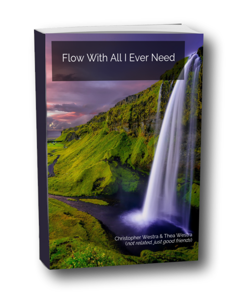 Flow poem book cover - Forward Steps