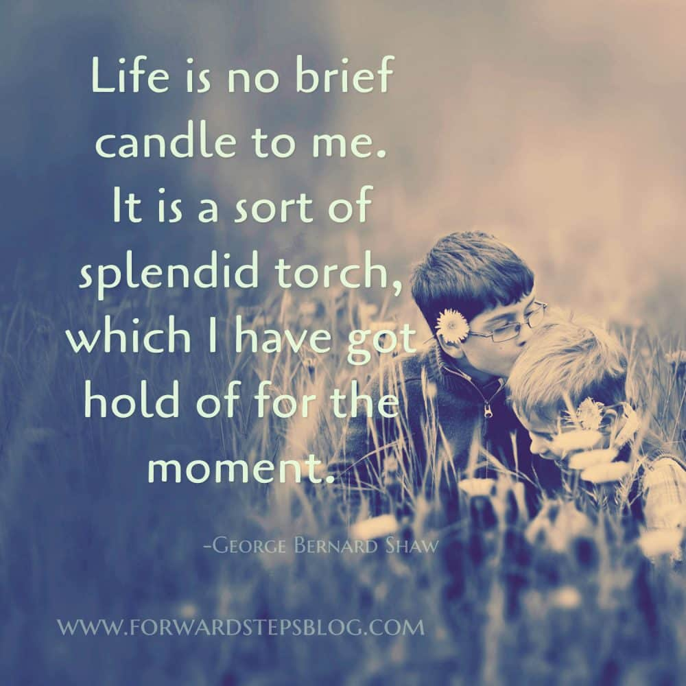 Life Is No Brief Candle - Forward Steps image 1500px_1