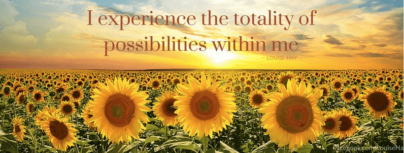 Personal development Facebook pages - Louise Hay