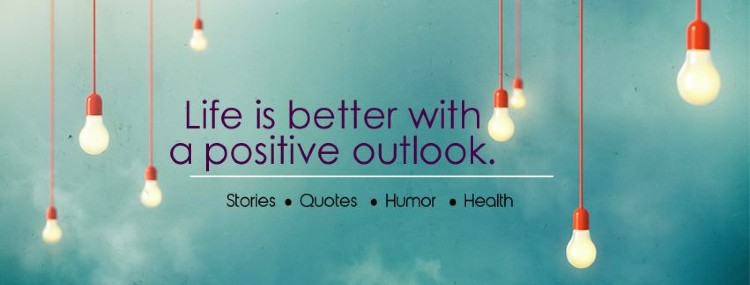 Personal development Facebook pages - Positive Outlooks