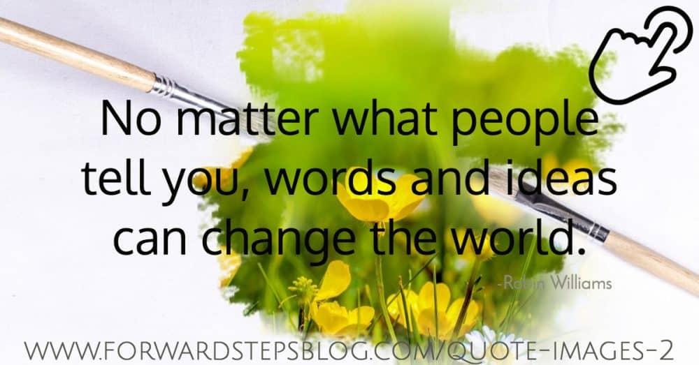 Positive quote images 2 cursor button
