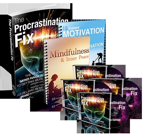 Procrastination Fix Collection - Forward Steps