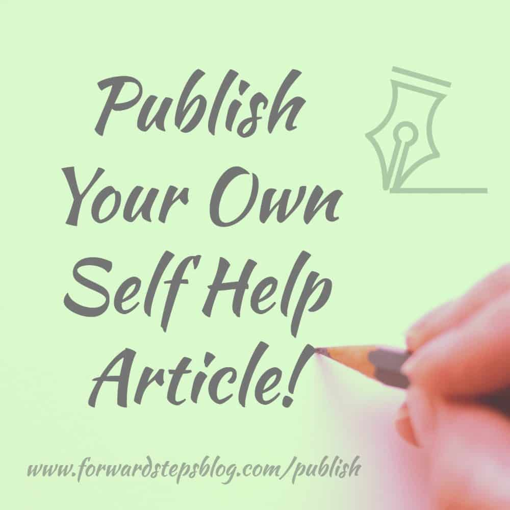 Publish Self Help Content You've Written