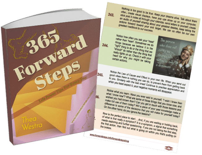 Purchase Your 365 Forward Steps eBook