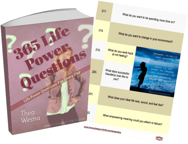 365 Life Power Questions eBook Cover