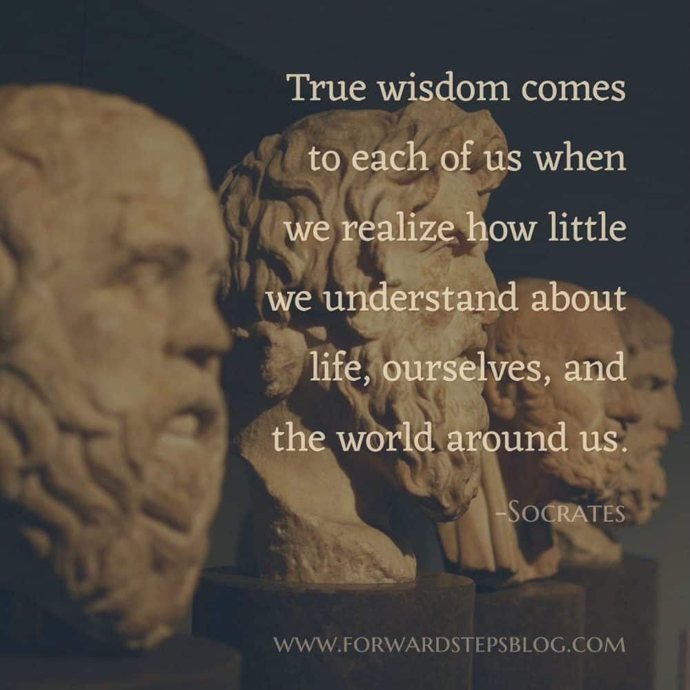 Quotes From Socrates - Forward Steps image_1