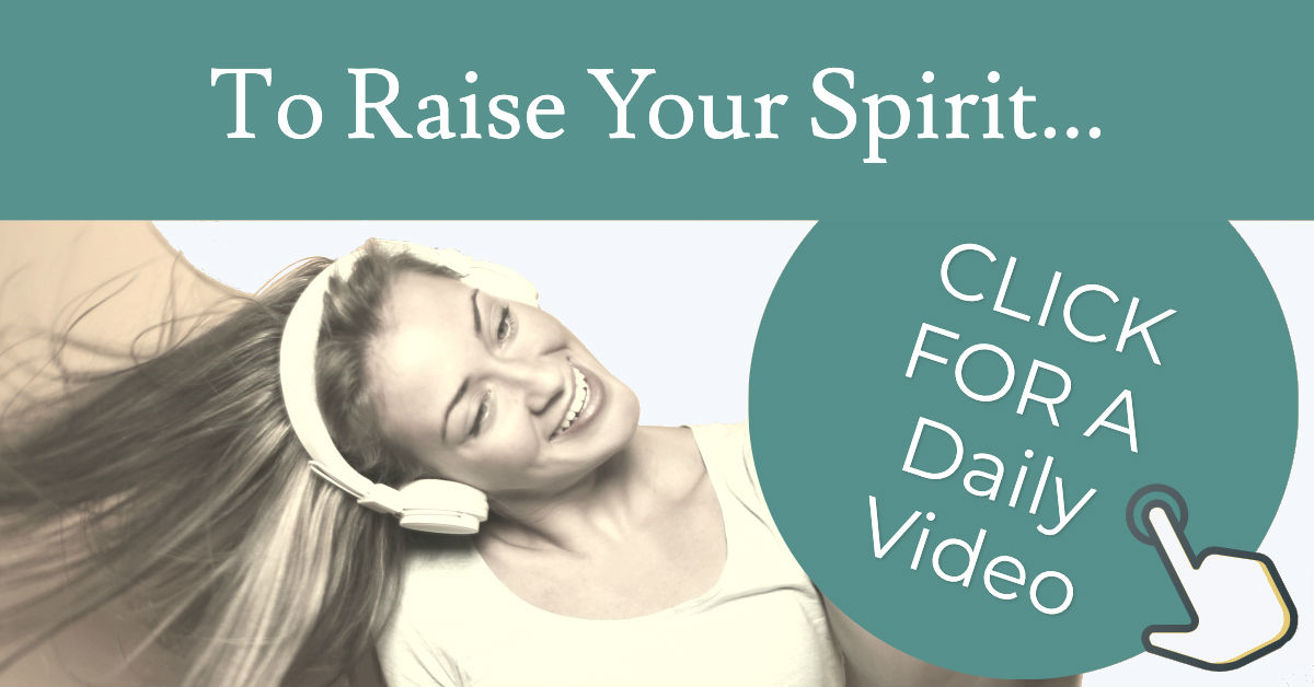 Raise Our Spirit With A New Daily Video From Forward Steps