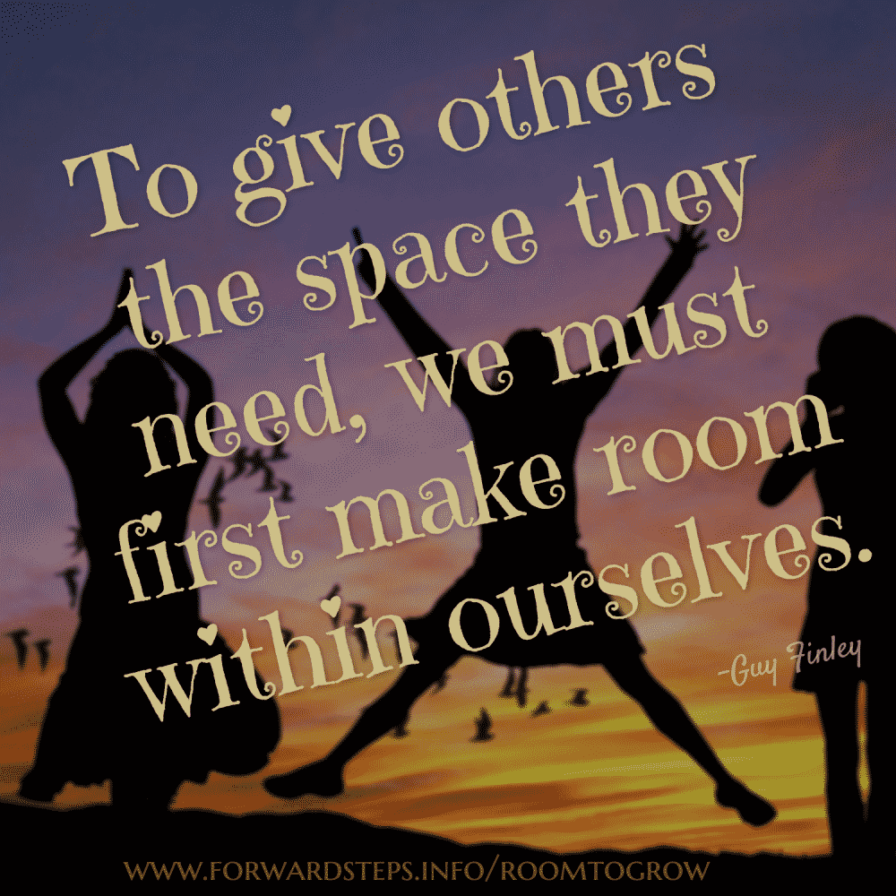 Let Go And Give Others Room To Grow
