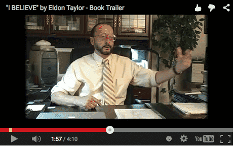 Eldon Taylor I Believe Book Trailer Video