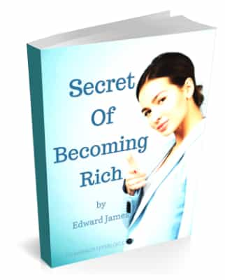 Secret Of Becoming Rich - Forward Steps ebook 322x400
