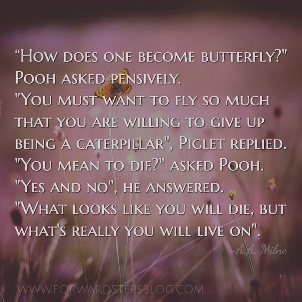 Struggling Butterfly Story Image 1