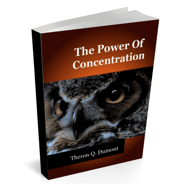 The Power Of Concentration - Forward Steps ebook gift cover 600px
