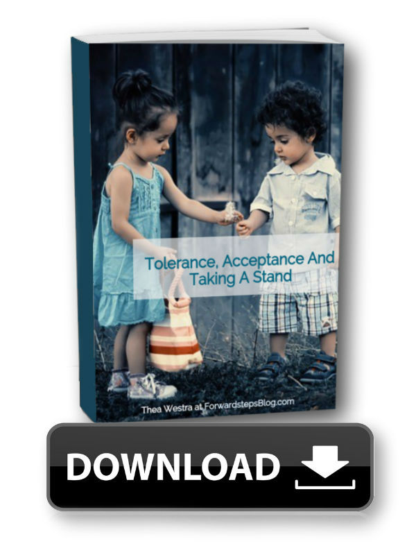 Tolerance Acceptance And Taking A Stand - Forward Steps Free eBook Download