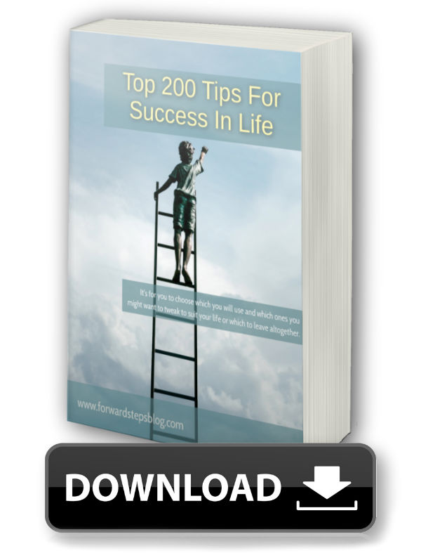 Top 200 Tips For Success - Forward Steps Free eBook Download