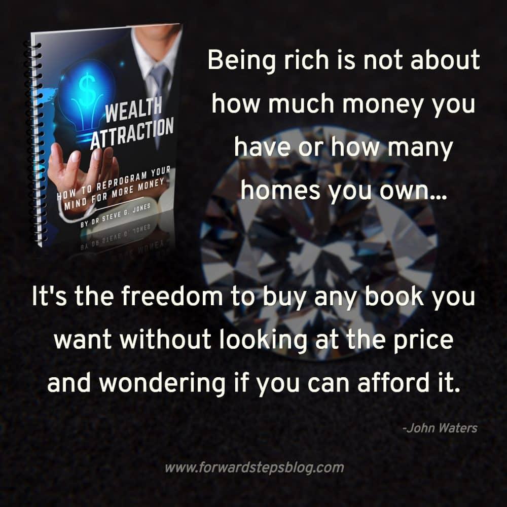 Reprogram your mind for more money @forwardsteps http://www.forwardstepsblog.com/wealth-atrraction