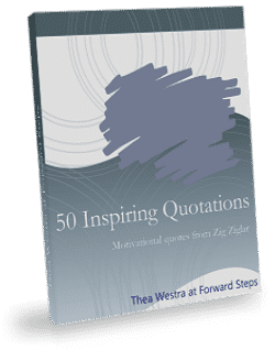 50 zig ziglar quotes - forward steps book cover image