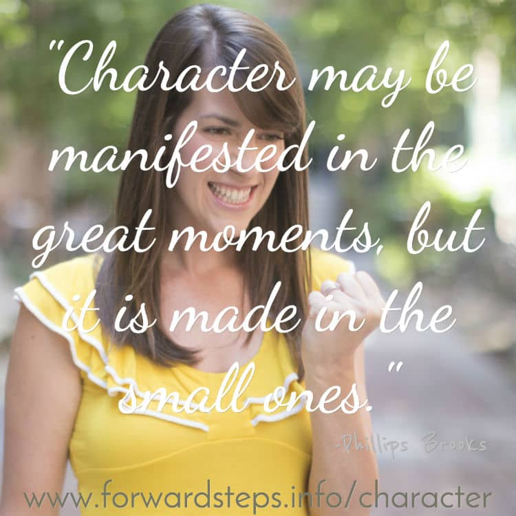 Dominant character trait quote image