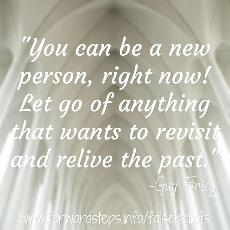 False Beliefs - New Person quote image