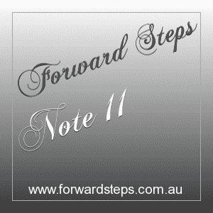 365 Forward Steps Self Improvement Notes Number 11
