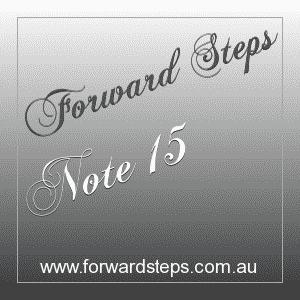 365 Forward Steps Self Improvement Notes Number 15