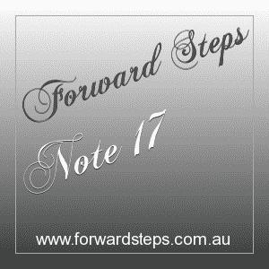 365 Forward Steps Self Improvement Notes Number 17