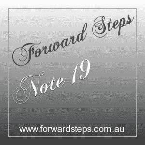 365 Forward Steps Self Improvement Notes Number 19