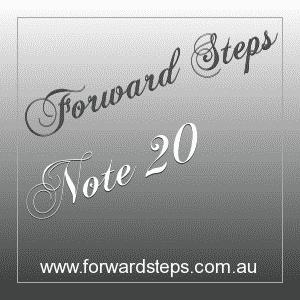 365 Forward Steps Self Improvement Notes Number 20