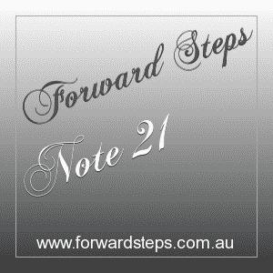 365 Forward Steps Self Improvement Notes Number 21