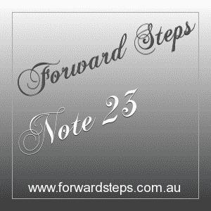 365 Forward Steps Self Improvement Notes Number 23