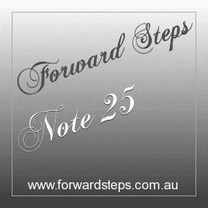 365 Forward Steps Self Improvement Notes Number 25