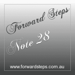365 Forward Steps Self Improvement Notes Number 28