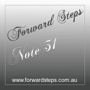 365 Forward Steps Self Improvement Notes Number 31