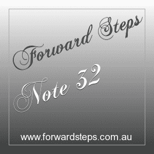 365 Forward Steps Self Improvement Notes Number 32