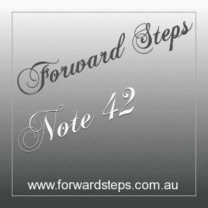 365 Forward Steps Self Improvement Notes Number 42