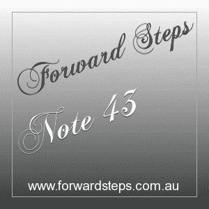365 Forward Steps Self Improvement Notes Number 43