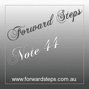 365 Forward Steps Self Improvement Notes Number 44