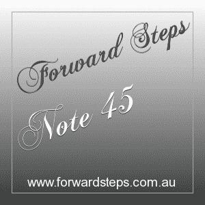 365 Forward Steps Self Improvement Notes Number 45
