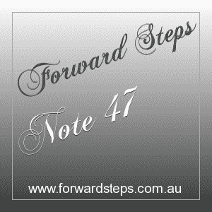 365 Forward Steps Self Improvement Notes Number 47
