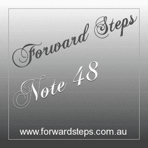 365 Forward Steps Self Improvement Notes Number 48