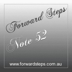 365 Forward Steps Self Improvement Notes Number 52