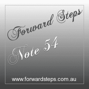 365 Forward Steps Self Improvement Notes Number 54