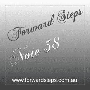 365 Forward Steps Self Improvement Notes Number 58