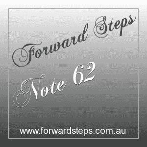 365 Forward Steps Self Improvement Notes Number 62